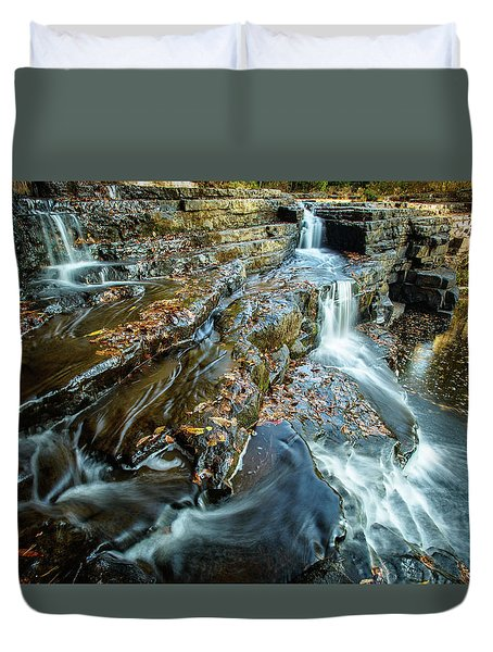 Dismal Creek Falls #2 Duvet Cover