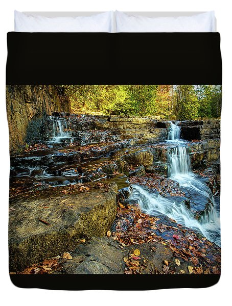 Dismal Creek Falls Horizontal Duvet Cover