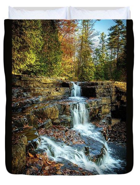 Dismal Falls #3 Duvet Cover