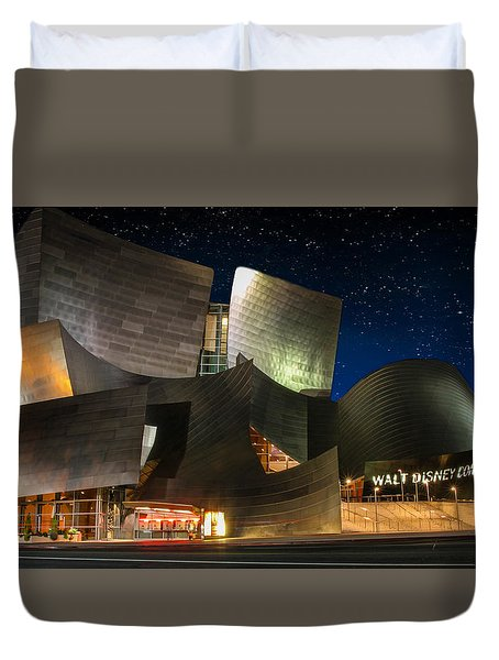 Disney Concert Hall Duvet Cover