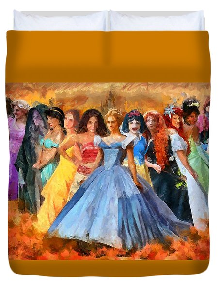 Disney's Princesses Duvet Cover
