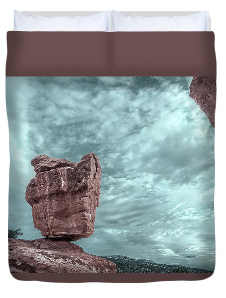 Disparate Colors  Duvet Cover