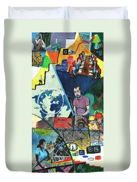 Disparity Duvet Cover