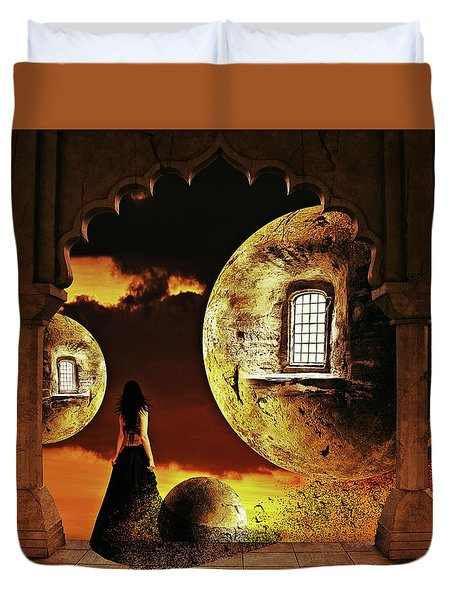 Dispersion Dream Duvet Cover by Mihaela Pater