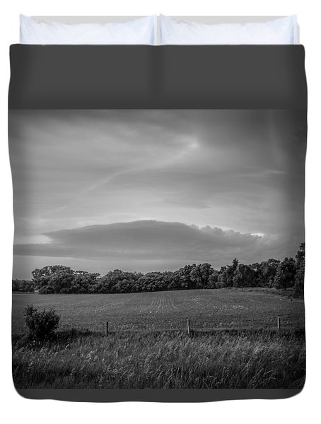 Distant Cloud Duvet Cover by Ray Congrove