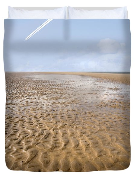 Distant Horizon Duvet Cover by Mal Bray