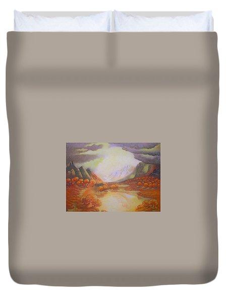 Distant Light Duvet Cover