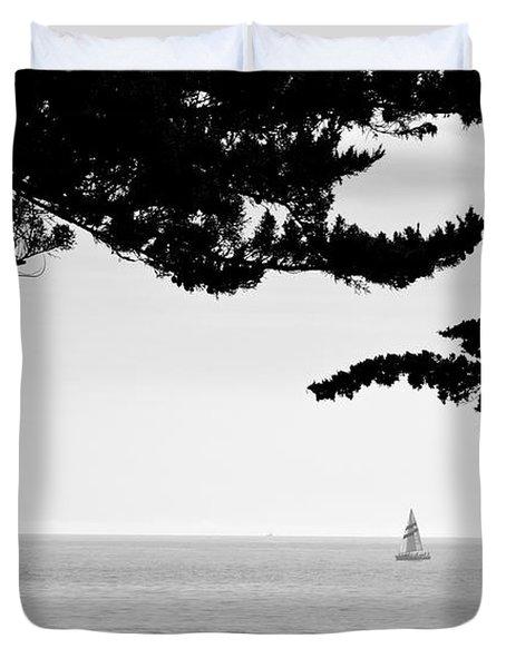 Distant Sails Duvet Cover