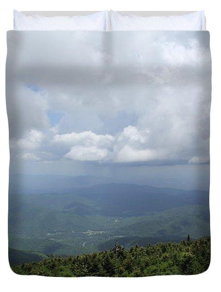 Distant Storm Duvet Cover