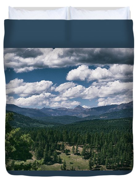 Distant Windows Duvet Cover