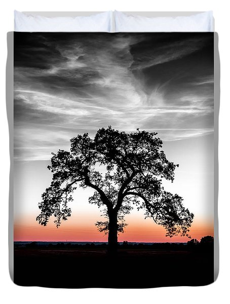 Duvet Cover featuring the photograph Distinctly by Betty LaRue