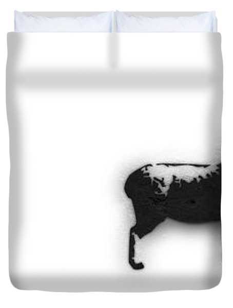 Distraction  Duvet Cover by Pixel Chimp and Dave Merrill