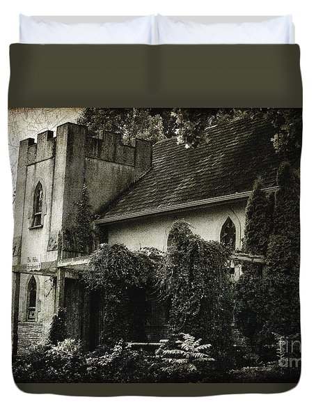Distressed Duvet Cover by Judy Wolinsky