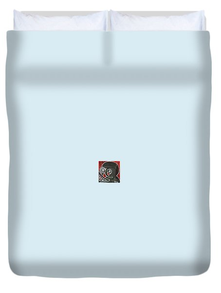 District 9 Duvet Cover by Greg Pitts