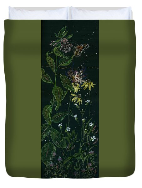Ditchweed Fairy Milkweed Duvet Cover