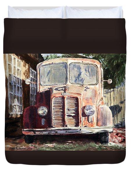 Divco Truck Duvet Cover