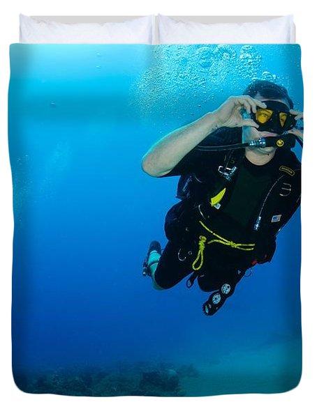 Dive In Duvet Cover