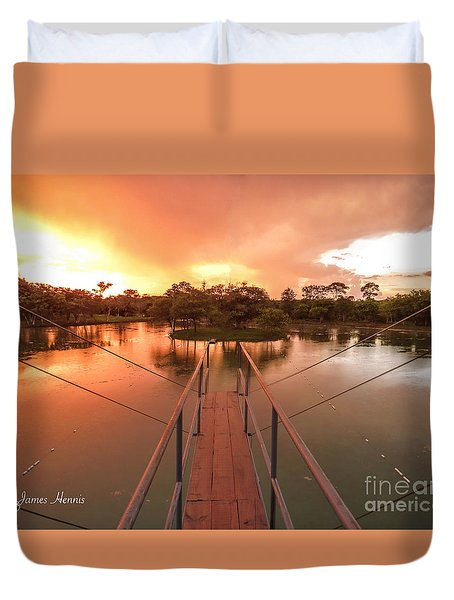 Dive In Duvet Cover
