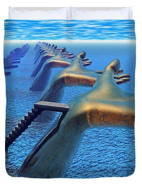 Dive Into The Imagination Duvet Cover