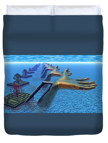 Dive Into The Imagination Duvet Cover