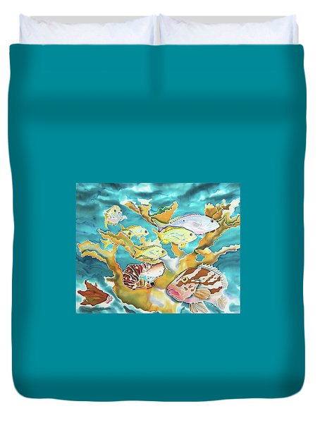 Divers Wet Dream Duvet Cover