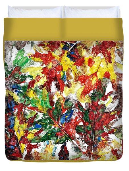 Diversity Of Colors Duvet Cover