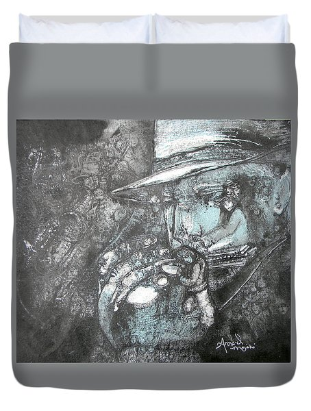 Divine Blues Duvet Cover