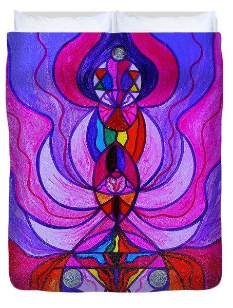 Divine Feminine Activation Duvet Cover