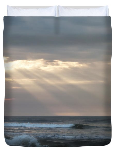 Divine Intervention Duvet Cover by Bill Cannon
