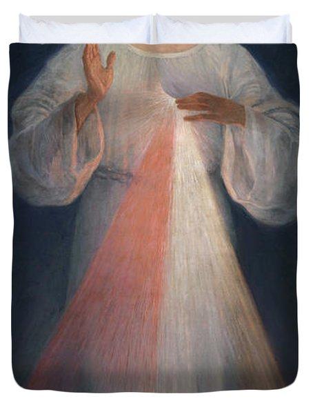 Divine Mercy Duvet Cover