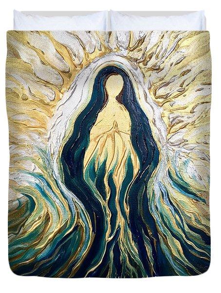 Divine Mother Duvet Cover