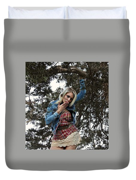 Divinely Dangerouos Duvet Cover