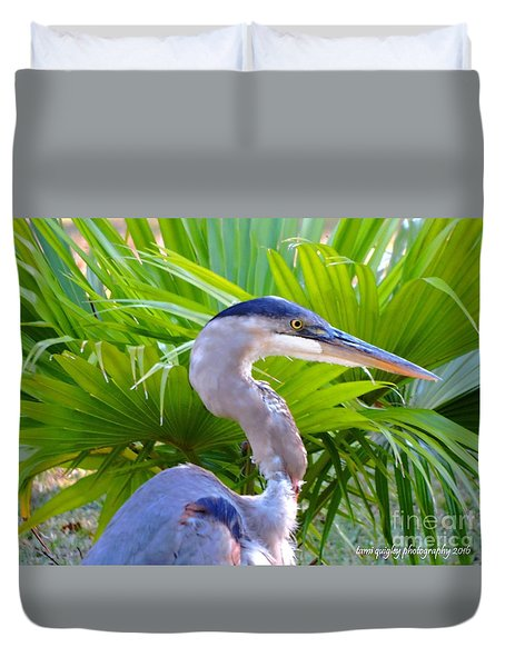 Dixieland Blues Duvet Cover