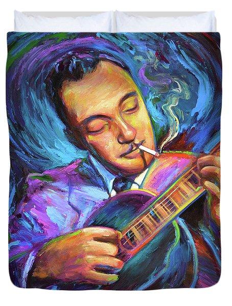 Django Reinhardt  Duvet Cover