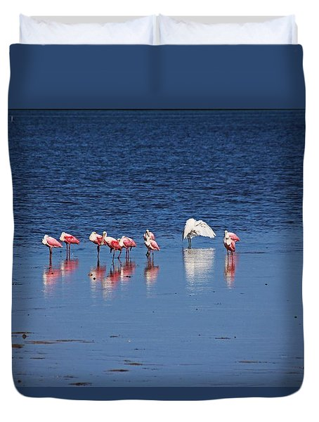 Duvet Cover featuring the photograph Do What You Wanna Do by Michiale Schneider
