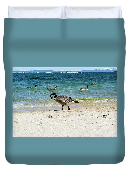 Do Your Own Thing Duvet Cover