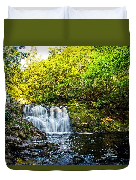Doans Falls Lower Falls Duvet Cover