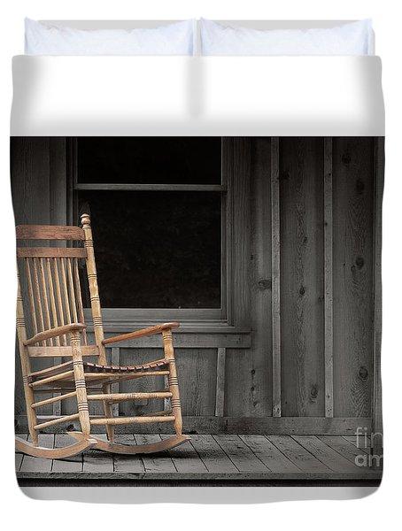 Dock Chair Duvet Cover