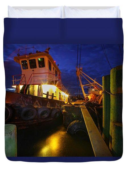 Dock Side Duvet Cover