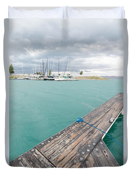 Dock View Duvet Cover