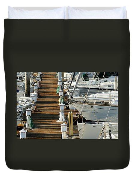 Dock Walk Duvet Cover