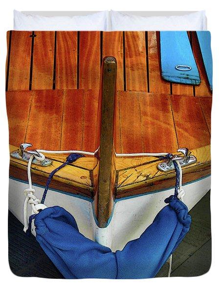 Docked Duvet Cover