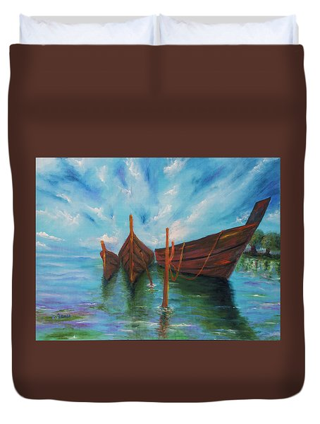 Docking Duvet Cover