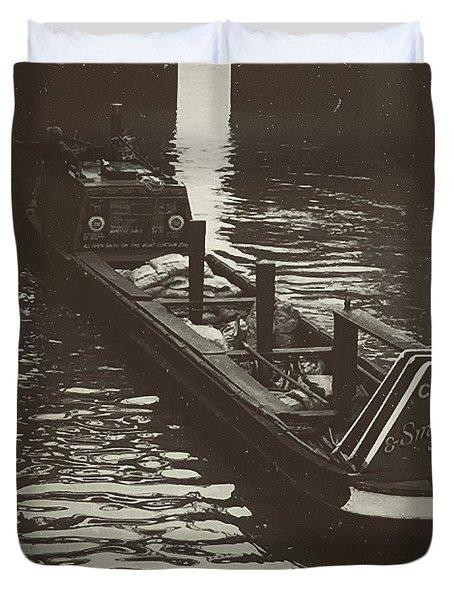 Dockland Daytime  Duvet Cover