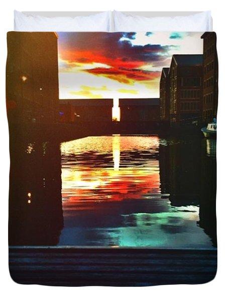 Dockland Sun Down Duvet Cover