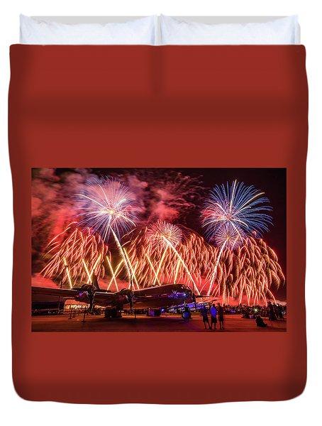 Doc's Fireworks Duvet Cover