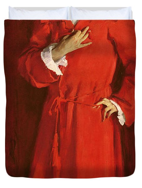 Doctor Pozzi At Home, 1881 Duvet Cover