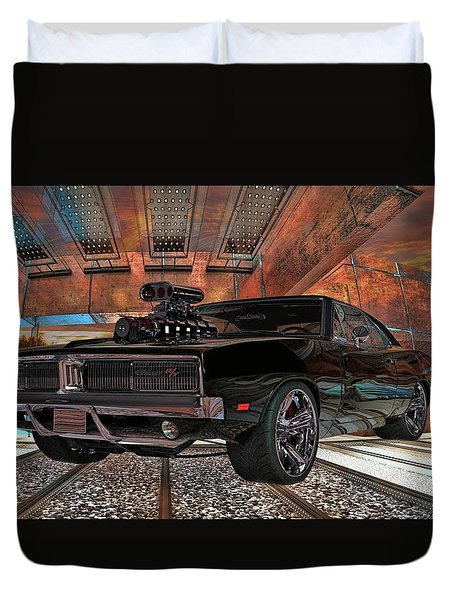 Dodge Charger R/t 1969 Hemi Duvet Cover