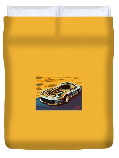 Dodge This Duvet Cover