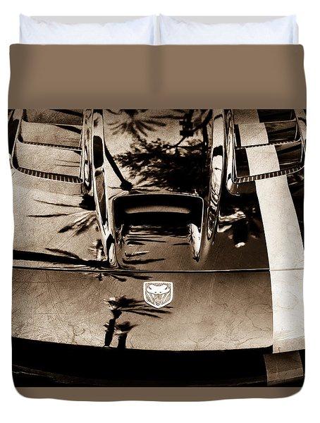 Dodge Viper Hood -0389s Duvet Cover